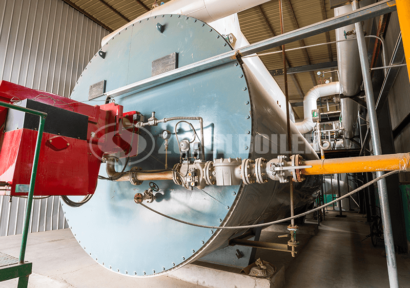 1.4 MW thermal fluid heater in Singapore