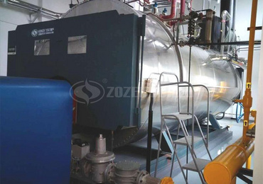 1 tph WNS condensing gas-fired boiler in Changzhou