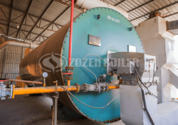 10.5 MW YY(Q)L thermal fluid heater for rubber plant