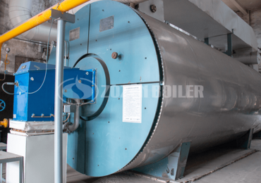 14 MW YQW thermal fluid heater for edible oil refinery