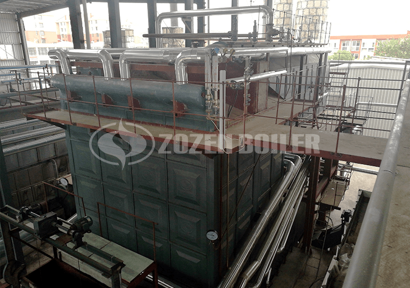 12 MW YLW thermal oil heater for chemical industry