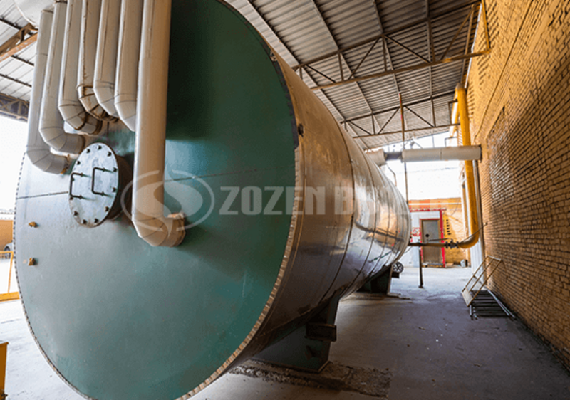 9.4 MW YYW thermal oil for textile factory