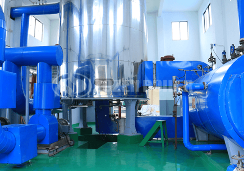 6 MW YQW thermal fluid heater for chemical industry