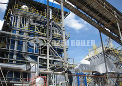 75 tph steam boiler for food industry
