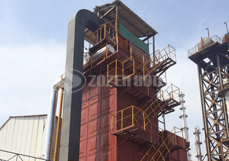 23.3 MW YQL thermal oil heater for chemical industry