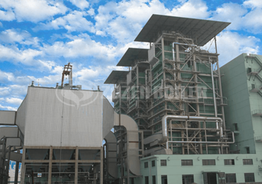 17.5 MW SHX series circulating fluidized bed hot water boiler for heating