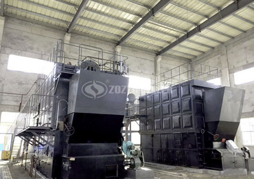 20 tph SZL biomass-fired water tube boiler project for oil refining industry in Indonesia