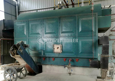 4 tph DZL biomass-fired fire tube boiler project for food industry in Malaysia