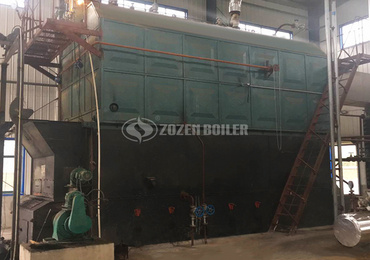 10 tph SZL biomass-fired water tube boiler project for paper industry