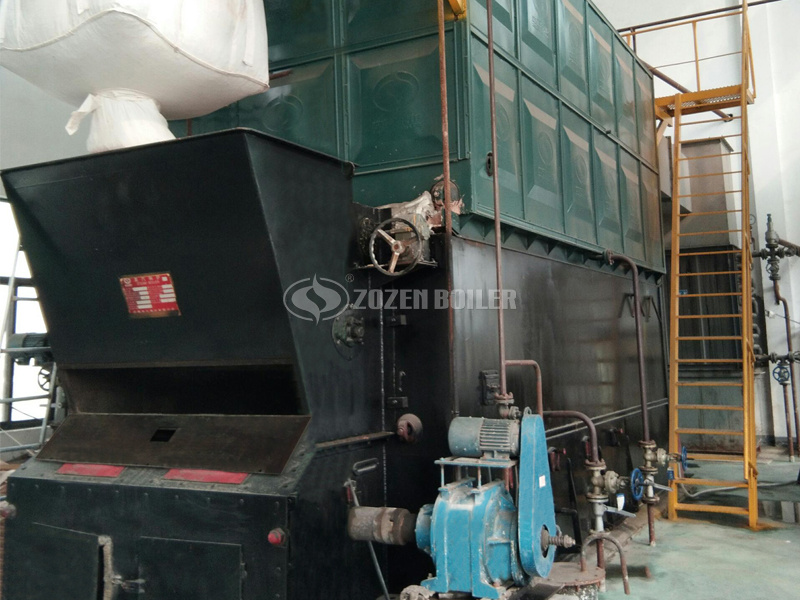 ZOZEN 6 tph SZL series biomass-fired steam boiler