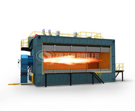 SZS series gas-fired (oil-fired) hot water boiler