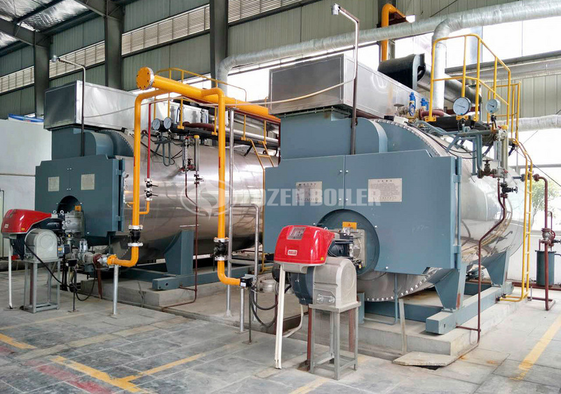 ZOZEN 4 tph WNS gas-fired boiler for building industry in South Africa