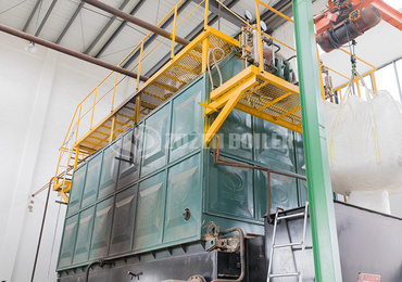 6 tph SZL biomass-fired boiler project for wood products industry