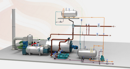 ZOZEN innovated new gas-fired thermal oil heaters with another improvement of thermal efficiency