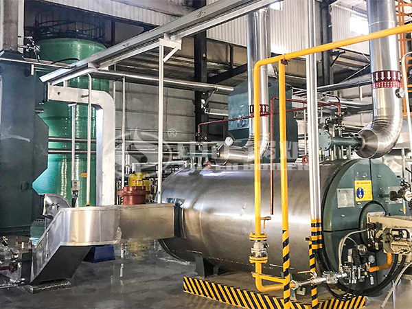 ZOZEN YQW series horizontal thermal fluid heater project