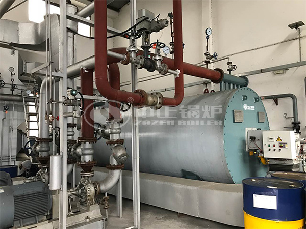 ZOZEN thermal fluid heater project for Zhuobao Science
