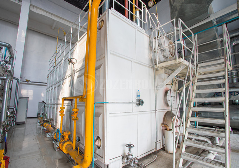 ZOZEN 40 tph SZS series gas-fired boiler in Turkmenistan