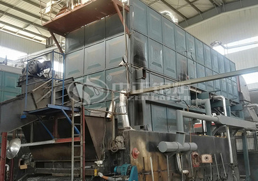20 tph SZL series coal-fired boiler project for rubber industry