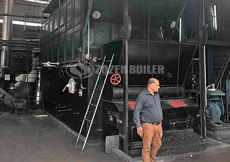 ZOZEN SZL series coal-fired water tube boiler project in Pakistan