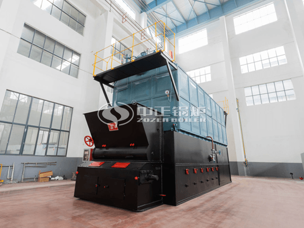 ZOZEN biomass boiler is ready to ship to overseas