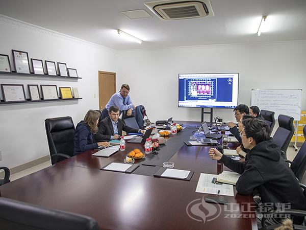 ZOZEN technical team carried out technical exchanges with the delegation of Navoiyazot