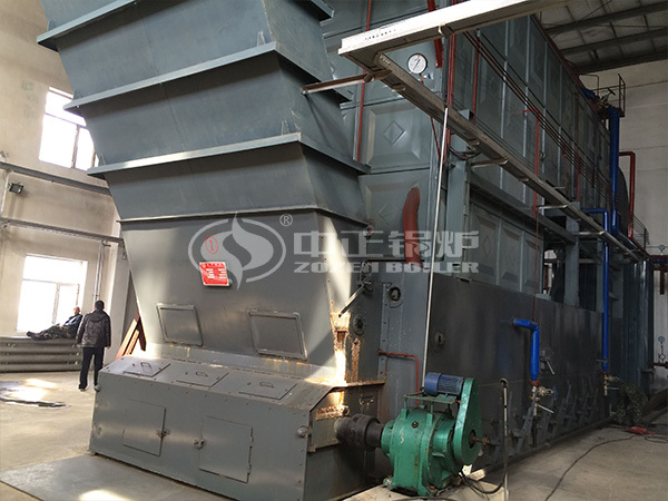 ZOZEN steam boiler for food industry in Indonesia