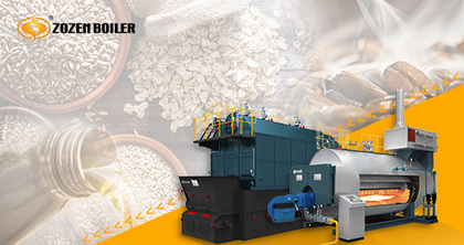 High efficiency and low emission, ZOZEN leads the new trend of eco-friendly boilers in food industry