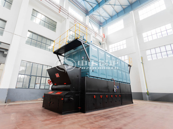 ZOZEN SZL series solid fuel fired chain grate boiler