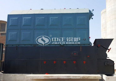 8 tph coal-fired boiler project for feed industry in Pakistan