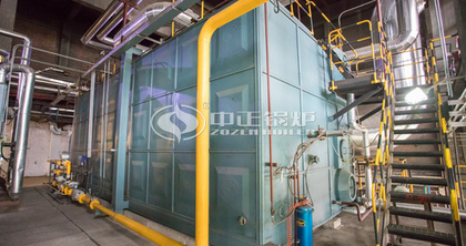 ZOZEN gas-fired superheated steam boilers make double efforts for supporting CNEG