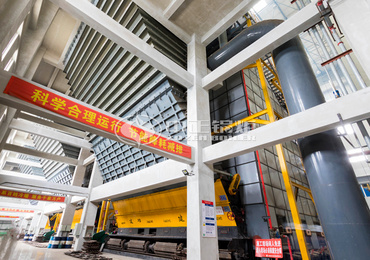 DHL series corner tube hot water boiler project for heating industry