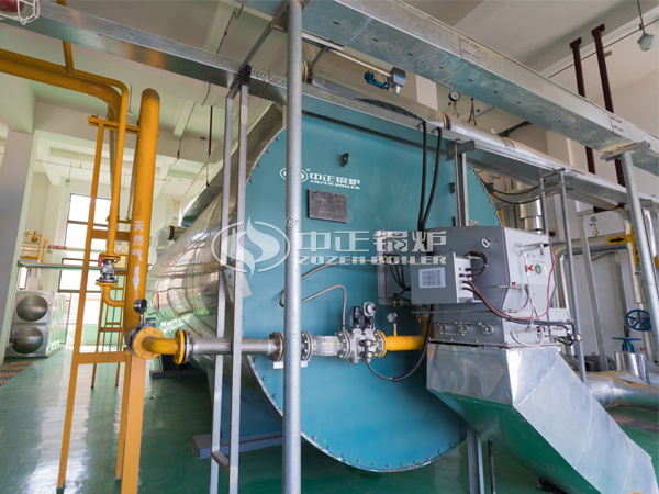 ZOZEN thermal oil heater for Xinheng New Materials