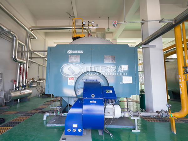 ZOZEN gas-fired boiler for Xinheng New Materials