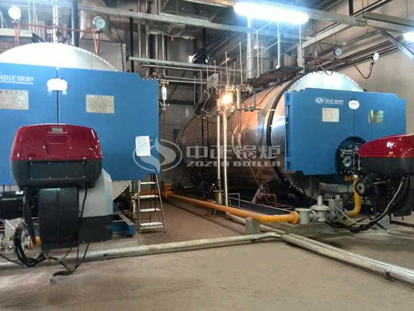 ZOZEN WNS series gas-fired boilers are running at SK hynix (Chongqing)