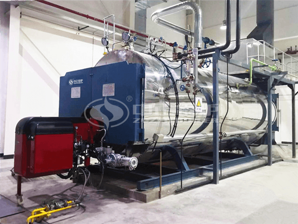 ZOZEN WNS gas-fired steam boiler for Nongfu Spring Fruit Industry