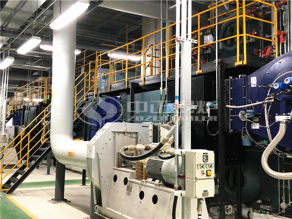 ZOZEN SZS series gas-fired steam boilers for Samsung Electronics
