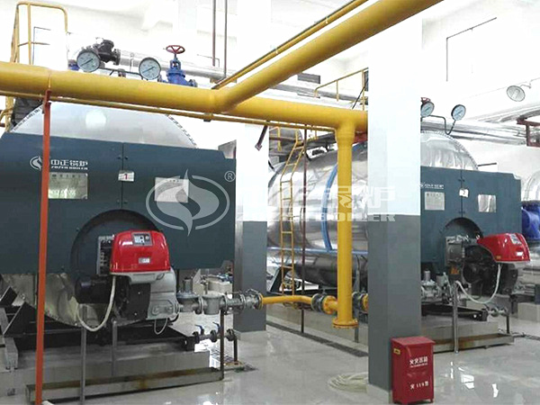 ZOZEN gas-fired hot water boilers for Shanghai Sunqiao Modern Agriculture Park