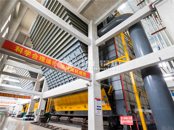 ZOZEN DHL series coal-fired hot water boilers for Shenyang Third Thermal Heating