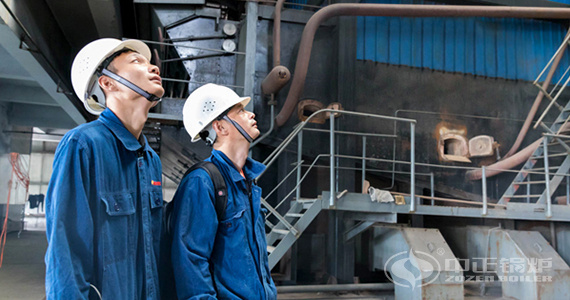 ZOZEN after-sales team provided maintenance service for coal-fired boiler rooms in Liaoning