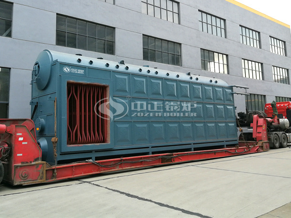 ZOZEN shipped the SZS series boiler to Lenjing (Nanjing) Fiber
