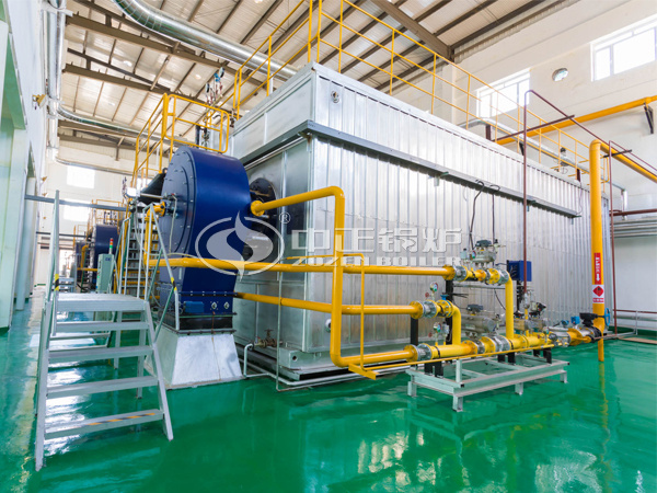 ZOZEN SZS series gas-fired steam boilers for Feihe Dairy