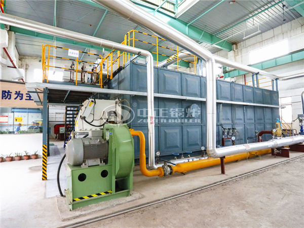 ZOZEN SZS condensing steam boiler for No.3533 Printing Dyeing and Clothing Co., Ltd.