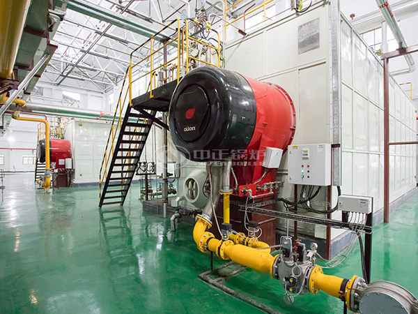 ZOZEN SZS series gas-fired steam boiles for Luzhou North Chemical Industries