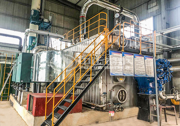 SZS series low NOx gas-fired saturated steam boiler for fruit juice industry