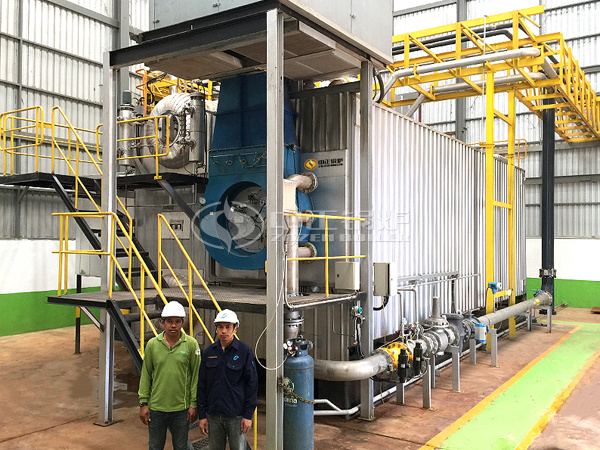 ZOZEN SZS series gas-fired boiler in Thailand