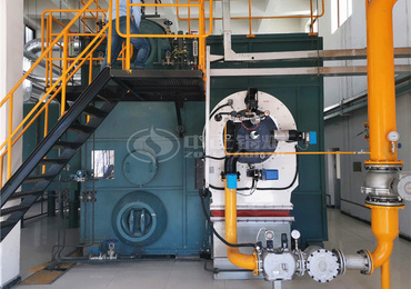 40 tph SZS series low NOx gas-fired steam boiler for pharmaceutical industry