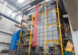 ZOZEN DHL series coal-fired hot water boiler for heating industry