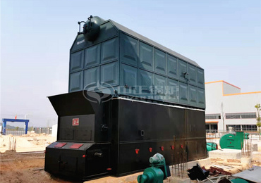 10 tph SZL series biomass-fired chain grate steam boiler for construction industry