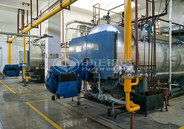 10 tph WNS series gas-fired steam boiler renovation project for Urumqi Railway