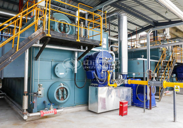 20 tph & 25 tph SZS series gas-fired steam boilers for rubber industry